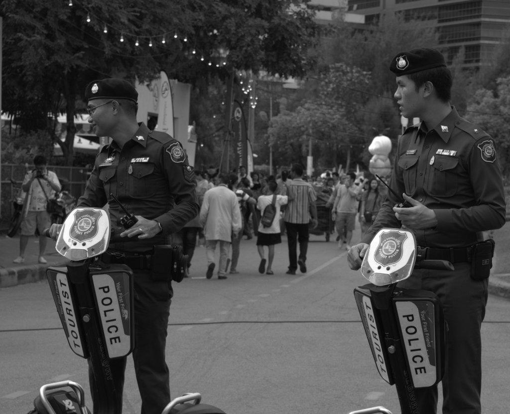 policeB&W