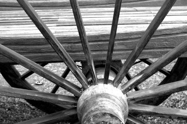 wheel b&W