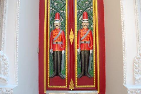 soldier door
