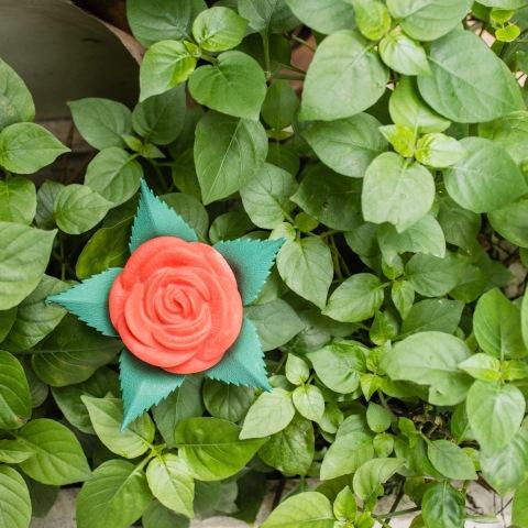 plastic rose